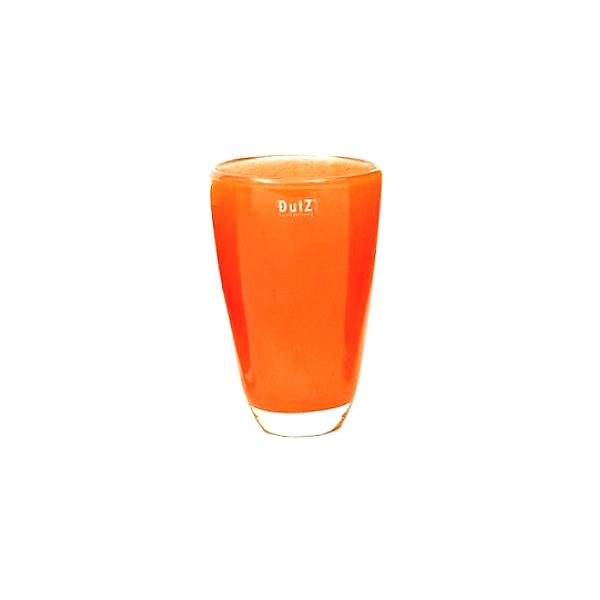 dutz collection blumenvase h 21 x 13 cm orange 107182. Black Bedroom Furniture Sets. Home Design Ideas