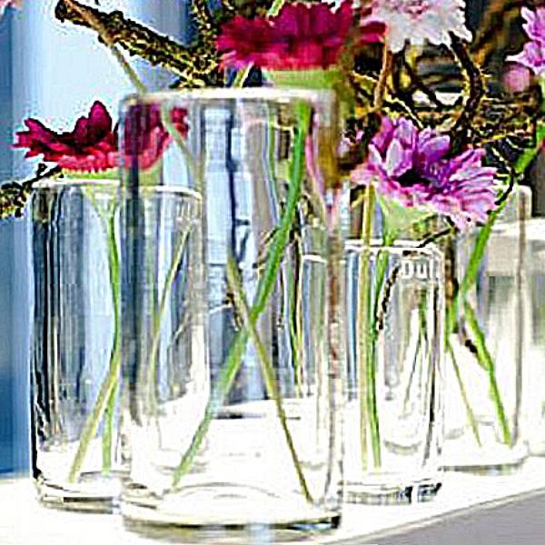 dutz collection vase cylinder h 19 x 15 cm clear 105911. Black Bedroom Furniture Sets. Home Design Ideas