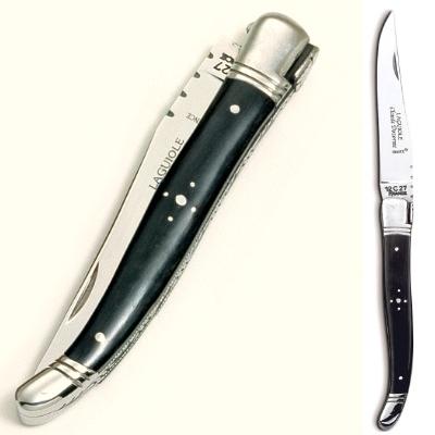 ProPassione Laguiole Taschenmesser, modern, Griffschalen Ebenholz, Backen Edelstahl satini Preisvergleich