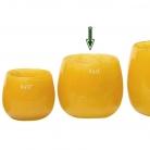 DutZ®-Collection Vase Pot, H 14 x Ø 16 cm, Ochreous