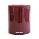 Henry Dean Vase/Windlicht Cylinder, H 16,5 x Ø 13,5 cm, Claret