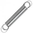 Accessoires hamacs, ressort en acier avec cable de sécurité d'acier