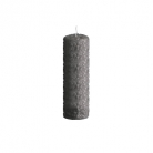 DutZ®-Collection Pillar-Candle, h 20 x Ø 7 cm, colour: dark grey