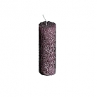 Collection DutZ® bougie cylindrique, h 20 x Ø 7 cm, Colori: violet