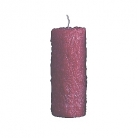 Collection DutZ® bougie cylindrique, h 25 x Ø 10 cm, Colori: rouge