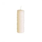 DutZ®-Collection Stumpenkerze, H 20 x Ø 7 cm, Farbe: Creme