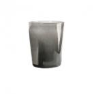 Collection DutZ® vase Conic, h 17 x Ø 15 cm, Colori: gris foncé