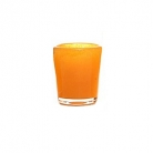 DutZ®-Collection Vase Conic, H 14  x  Ø.12 cm, colour: orange