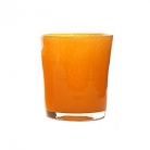 DutZ®-Collection Vase Conic, H 23  x  Ø.20 cm, colour: orange