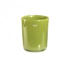 Collection DutZ® vase Conic, h 17 x Ø 15 cm, Colori: vert