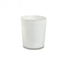 DutZ®-Collection Vase Conic, H 17  x  Ø.15 cm, Farbe: Weiß