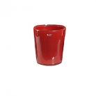 DutZ®-Collection Vase Conic, h 14  x  Ø.12 cm, colour: red
