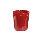 Collection DutZ® vase Conic, h 17 x Ø 15 cm, Colori: rouge
