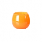 DutZ®-Collection Vase Pot, h 14 x Ø 16 cm, colour: orange
