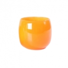 DutZ®-Collection Vase Pot, h 18 x Ø 20 cm, colour: orange