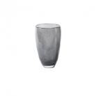 DutZ®-Collection Flower Vase, h 26 x Ø 16 cm, colour: dark grey