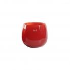 DutZ®-Collection Vase Pot, H 11 x Ø 13 cm, Farbe: Rot