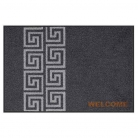 Doormat Welcome Meander, anti slip back, easy-care, machine washable at 40° C, l 75 x w 50 cm