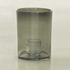 Henry Dean Windlicht Tournon S, H 22 x Ø 15 cm, Smoke