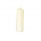 Henry Dean 2 Kerzen Weiß, für Windlicht S, H 15 x Ø 5 cm