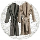 Abyss & Habidecor Super Pile Bath Robe, 100% Egyptian Giza 70 cotton, 700 g/m², Size L, 100 White