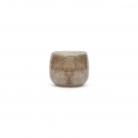 DutZ®-Collection Vase Pot Mini, H 7 x Ø 10 cm, Grau/Braun