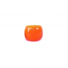 Collection DutZ® vase/récipient Pot Mini, h 7 x Ø 10 cm, orangé rouge