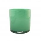Henry Dean Vase/Windlicht Cylinder, H 15 x Ø 15 cm, Lake