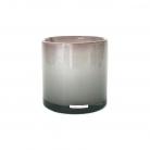 Henry Dean Vase/Windlicht Cylinder, H 15 x Ø 15 cm, Zefiro