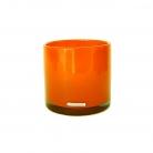 Henry Dean Vase/Windlight Cylinder, h 15 x Ø 15 cm, Mandarin