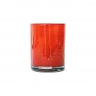Henry Dean Vase/Windlicht Cylinder, H 13 x Ø 10 cm, Fire