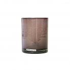Henry Dean Vase/Windlicht Cylinder, H 13 x Ø 10 cm, Twilight