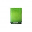 Henry Dean Vase/Windlight Cylinder, h 13 x Ø 10 cm, Apple Green