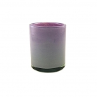 Henry Dean Vase/Windlicht Cylinder, H 13 x Ø 10 cm, Jacaranda