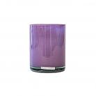 Henry Dean Vase/Windlight Cylinder, h 13 x Ø 10 cm, Lilac