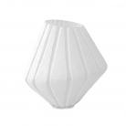 XO dsgn Vase Vertigo, cut, h 24 x Ø 23 cm, white