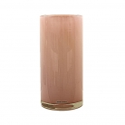 Henry Dean Vase/Windlight Cylinder, h 30 x Ø 15 cm, Peach