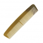 Genuine horn comb, fine/wide, straight, hand cut und hand polished, l 13 cm