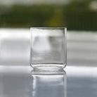 Henry Dean 6 Trinkgläser Minimal, klein, H 8 x Ø 7 cm