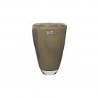 DutZ®-Collection Flower Vase, h 26 x Ø 16 cm, brown