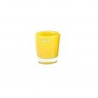 DutZ®-Collection Vase Conic, h 11  x  Ø 9.5 cm, yellow