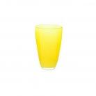 DutZ®-Collection Flower Vase, h 21 x Ø 13 cm, yellow