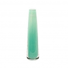 Collection DutZ® vase Solifleur, conique, h 21 x Ø 6 cm, jade