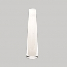 DutZ®-Collection Vase Solifleur, konisch, H 21 x Ø 6 cm, Weiß
