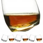 Sagaform 6 Whiskygläser Tumbler mit konischem Boden, Inhalt: 20 cl