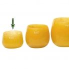 DutZ®-Collection Vase Pot Mini, h 7 x Ø 10 cm, ochreous