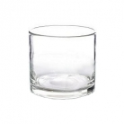 DutZ®-Collection Glasschale Cylinder, hoch, H 18 x Ø 18 cm, Farbe: Klar