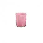 Collection DutZ ®  vase Conic, h 11 x Ø 9.5 cm, fuchsia