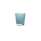 Collection DutZ ®  vase Conic, h 11 x Ø 9.5 cm, aqua