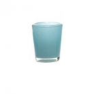 Collection DutZ ®  vase Conic, h 14 x Ø 12 cm, aqua